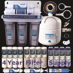 Système D'osmose Inverse Pour La Maison De Consommation En 5 Étapes 15 Filtres À Eau Bluonics Ro Total