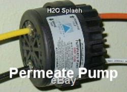 Système D'osmose Inverse Ro 5 Etape 100 / 150gpd + Pompe + Réservoir Perméat Filtre Eau