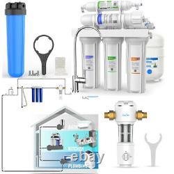 Système D'osmose Inverse Système D'osmose Inverse 75gpd Solutions De Filtration De L'eau Entier Entier