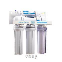 Systeme D'osmosis Reverse Eaulouverts Ro5 Lux À Membrane 100 Gpd