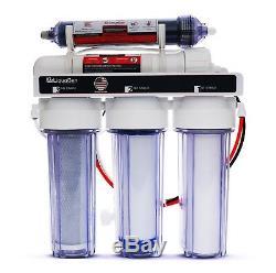 Système De Filtration D'eau À Osmose Inverse + Désionisation Liquagen 5 Stage (100 Gpd)