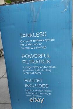 Système De Filtration D'eau À Osmose Inverse Oasis, Sous Purificateur Sans Réservoir À Évier Nouveau