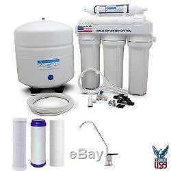 Système De Filtration D'eau À Osmose Inversée Home 5 Stade Home Made In USA