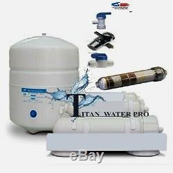 Système De Filtration D'eau Alcaline / Ioniseur Par Osmose Inverse Pour Comptoir - 5 Étages