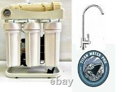 Système De Filtration D'eau D'osmose Inverse 800 Gpd - Pompe À Écoulement Direct -faucet
