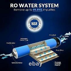 Système De Filtration D'eau D'osmose Inverse T1-5 Étape Sous Filtre D'eau Ro