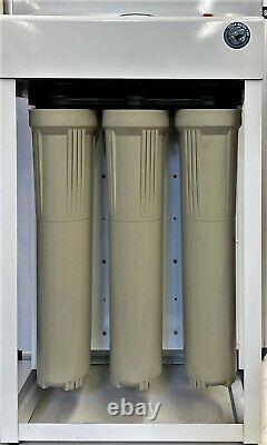 Système De Filtration D'eau Osmose Inverse 1200 Pompes À Double Rappel Gpd