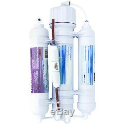 Système De Filtration D'eau Par Osmose De Comptoir Portatif À 3 Étages