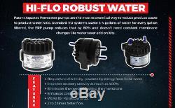 Système De Filtration D'eau Par Osmose Inverse 6 Étapes Rodi 100gpd + DI + Pompe De Perméat