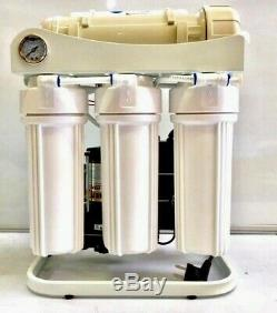 Système De Filtration D'eau Par Osmose Inverse 800 Pompe De Surpression À Écoulement Direct Gpd Ro-800