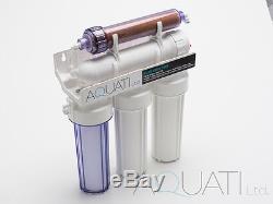 Système De Filtration D'eau Par Osmose Inverse À 5 Étages Ro & DI 50/75/100 / 150gpd