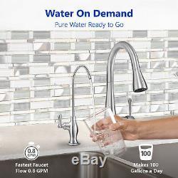Système De Filtration D'eau Par Osmose Inverse De Déionisation Adoucisseur 100 DI De Ro DI