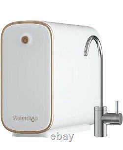 Système De Filtration D'eau Par Osmose Inverse De Goutte D'eau, Sans Réservoir, 400 Gpd Wd-d4