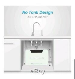 Système De Filtration D'eau Par Osmose Inverse Fs-tfc Sous Filtre À Eau 300 Gpd D'évier