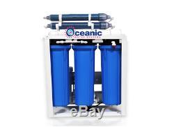 Système De Filtration D'eau Par Osmose Inverse Pour Aquarium Rodi 300 Gpd Avec Double Pompe DI +