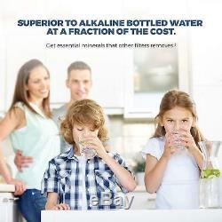 Système De Filtration D'eau Par Osmose Inverse Premier Ro Ioniseur Alcalin 150gpd -orp