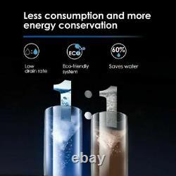 Système De Filtration D'eau Par Osmose Inverse Sans Réservoir À 5 Étapes Par Waterdrop G2 Black