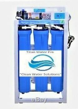 Système De Filtration D'eau Par Osmose Inverse Système De Filtration 800 Gpd Double Chasse Automatique Ro