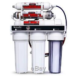 Système De Filtration D'eau Potable À La Maison Pour Osmose Inverse À 6 Étapes