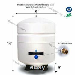 Système De Filtration D'eau Potable À Système De Filtration Par Osmose Inverse À 5 Étapes