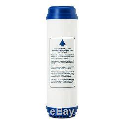 Système De Filtration D'eau Potable Par Osmose Inverse À 5 Étapes Withfaucet + Réservoir Nsf Certifié