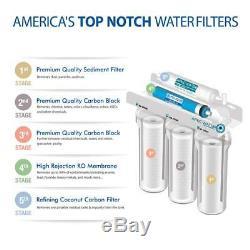Système De Filtration D'eau Potable Par Osmose Inverse De L'apec, Filtration En 5 Étapes Sous Évier