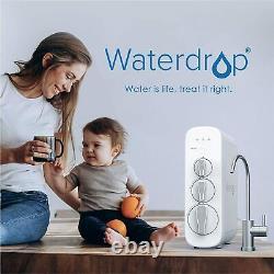 Système De Filtration D'eau Potable Par Osmose Inverse Tankless 400 Gpd Ro Waterdrop