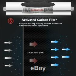 Système De Filtration D'eau Potable Par Osmose Inversée De Filtre D'épurateur D'eau De 7 Étapes