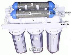 Système De Filtration D'eau Pure Par Osmose Inverse Rd102
