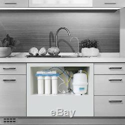 Système De Filtration D'eau Ro Système D'osmose Inverse Accueil 125g Purificateur D'eau Potable Directe