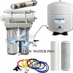 Système De Filtration De L'eau Alcalin D'osmose D'osmose D'inverse / Ioniseur De 5 Étapes 50 Gpd