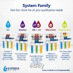 Système De Filtration De L'eau Minérale Alcaline Avec Osmose Inverse 10 Étapes