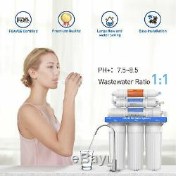Système De Filtration De L'eau Par Osmose Hikis 150g Système De Ro À Boire En 6 Étapes
