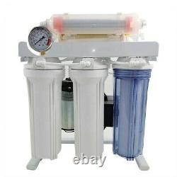 Système De Filtration De L'eau Potable 6 Étapes 200 Gpd Under-sink Reverse Osmosis