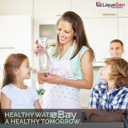 Système De Filtration De L'eau Potable Minérale (ro) En 6 Étapes + Réducteur De Déchets De Pompe Erp 500