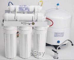 Système De Filtration Par Osmose Inverse De L'eau Pure Potable Domestique À Domicile