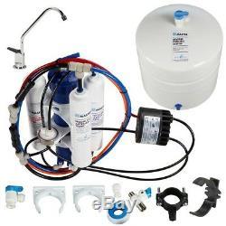 Système De Filtration Perméat Pompe Sous L'évier Blanc Osmose Inverse Durable
