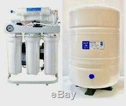Système De Filtre À Eau Par Osmose Commercial Léger Ro 400 Pompe De Surpression-10