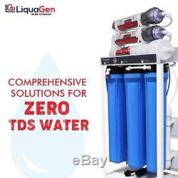 Système De Filtre À Eau Ro / DI Liquagen De Qualité Commerciale 800 Gpd + Réservoir De 40 Gallons