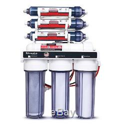 Système De Filtre À Eau Ro / DI Pour Aquarium Pour Usage Intensif Liquagen Phase 0 0 Ppm 7 E Étape 75 Gpd