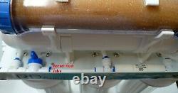Système De Filtre À Eau Ro DI Transparent 6 Étapes Avec 100 Gpd Membrane