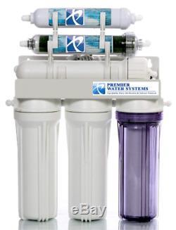 Système De Filtre D'eau D'osmose D'inversion De La Sortie 50 Gpd Potable / Ro D'aquarium / DI