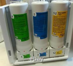 Système De Purification De Filtration D'eau De Comptoir Aquatru 4 Étapes Osmose Inverse