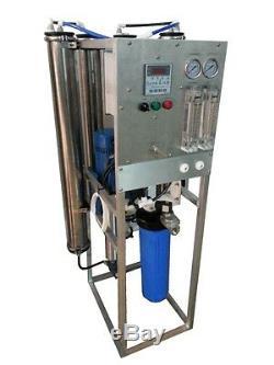 Système De Purification De L'eau Par Osmose Industrielle Industrielle 12.000 Gpd