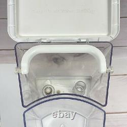 Système De Purification Du Filtre À Eau Aquatru Countertop Avec Filtres + 1 Nouveau Filtre