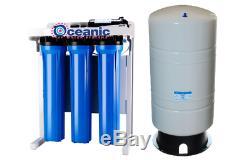 Système De Qualité Commerciale Eau Par Osmose Inverse 800 Gpd + Booster + 20 Pompes Réservoir Gal