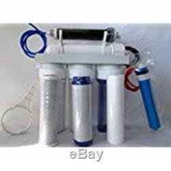 Système Ro / DI À 5 Étapes D'osmose Inverse De Premieraquarium Reef 100 Gpd Fabriqué Aux États-unis
