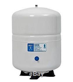 Systèmes De Filtrage D'eau À Osmose Inversé À Double Usage Grand Réservoir 6 Gal De DI / Ro 150 Gpd