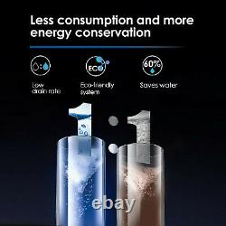 Tankless 5-stage Reverse Osmosis Water Filtration System 400 Gpd Black Waterdrop