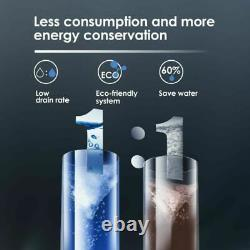 Tankless Reverse Osmosis Water Filtration System 400 Gpd, 11drain Ratio, 7-stage